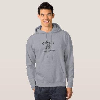 Moletom Camisola alta do Hoodie do navio de Orleans