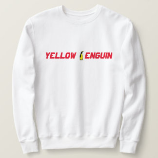 Moletom Camisola amarela do clássico do clube do pinguim