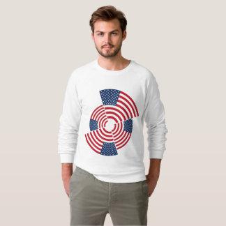 Moletom Camisola americana do Raglan do roupa dos homens