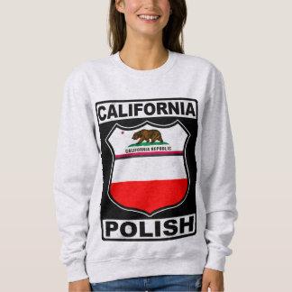 Moletom Camisola americana polonesa de Califórnia