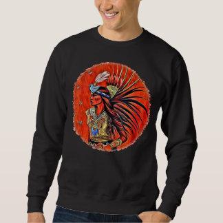 Moletom Camisola asteca do nativo americano do dançarino