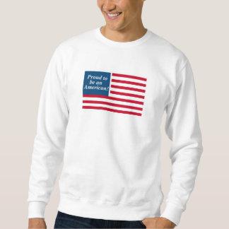 Moletom Camisola básica americana orgulhosa