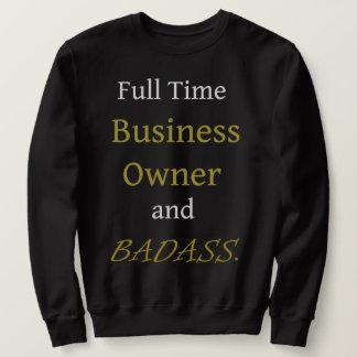 Moletom Camisola básica preta - proprietário empresarial e