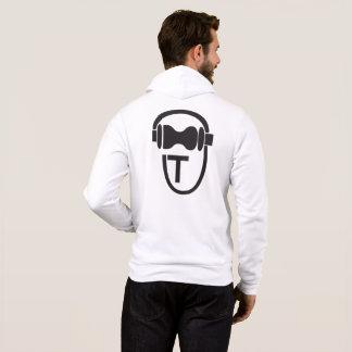 Moletom Camisola com o logotipo de TEnsko - traseiro - luz