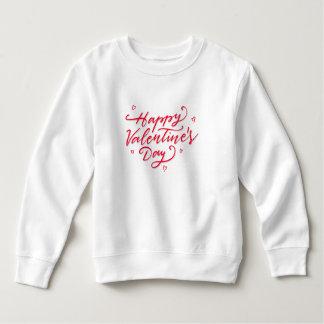 Moletom Camisola cor-de-rosa do feliz dia dos namorados  