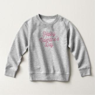 Moletom Camisola cor-de-rosa do feliz dia dos namorados |