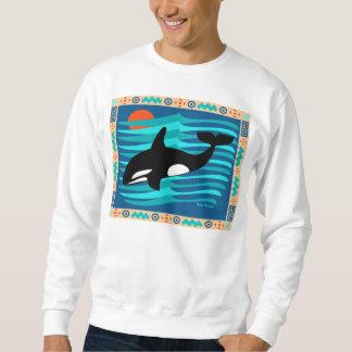 Moletom Camisola da baleia da orca