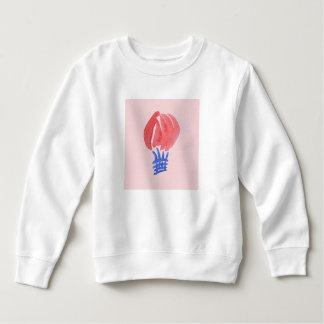 Moletom Camisola da criança do balão de ar