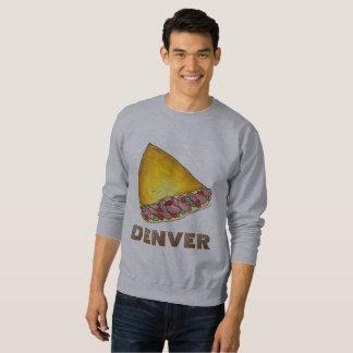 Moletom Camisola da omeleta da omeleta do ovo de Denver