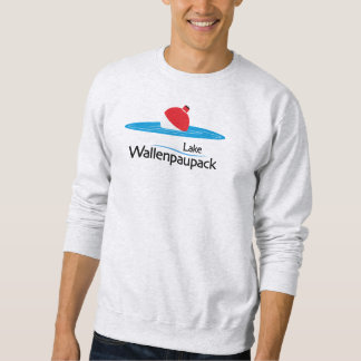 Moletom Camisola da pesca de Wallenpaupack do lago