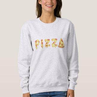 """Moletom Camisola da """"PIZZA"""" das mulheres"""