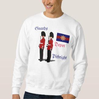 Moletom Camisola de Pirbright do depósito das guardas