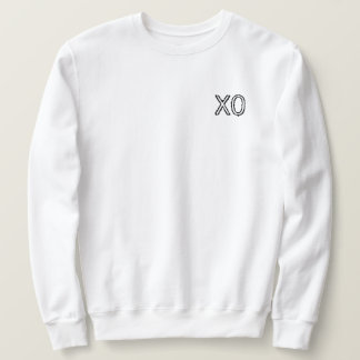 Moletom Camisola do branco de XO