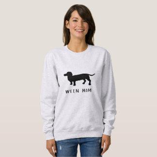 Moletom Camisola do cão do Wiener da mamã de Ween