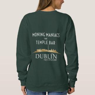 Moletom Camisola do Moning da mulher/Dublin Maniac 2018