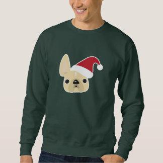 Moletom Camisola do Natal do buldogue francês