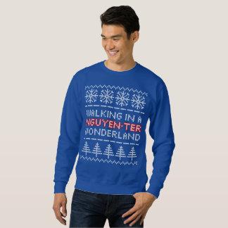 Moletom Camisola do Natal do Malha-olhar do país das
