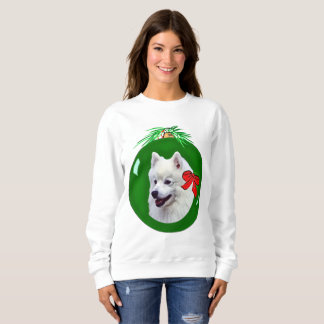 Moletom Camisola do Natal do Samoyed