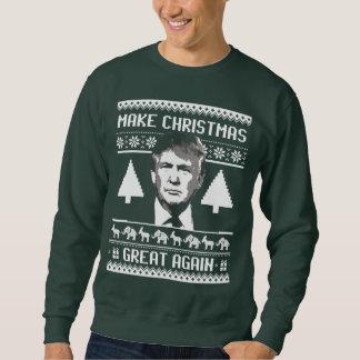 Moletom Camisola do Natal do trunfo - faça o excelente Aga