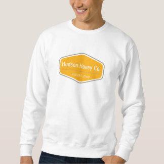 Moletom Camisola do pescoço de grupo do mel de Hudson