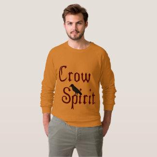 Moletom Camisola do Raglan dos homens do espírito do corvo