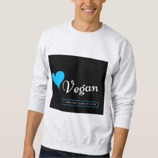 Moletom Camisola do Vegan para homens/mulheres - ame a
