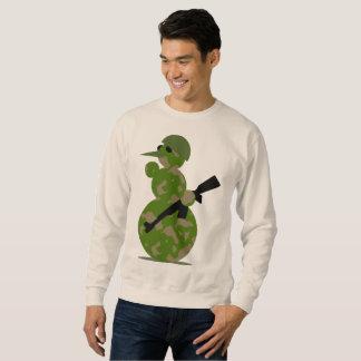 Moletom camisola do xmas do Natal dos homens do soldado do