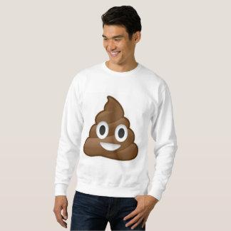 Moletom camisola dos homens do emoji do tombadilho