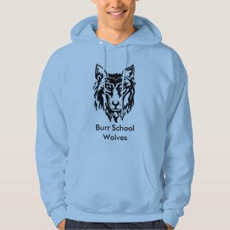 Moletom Camisola dos lobos da escola da rebarba