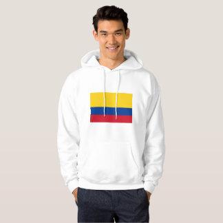 Moletom camisola encapuçado básica dos homens colombianos