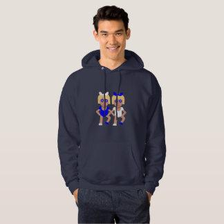 Moletom camisola encapuçado do hoodie dos homens de
