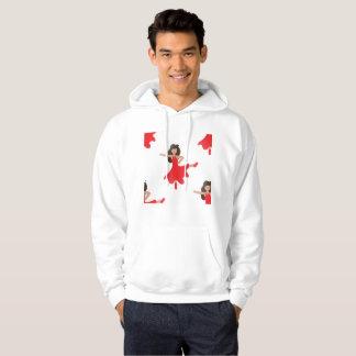 Moletom Camisola encapuçado do hoodie dos homens do emoji