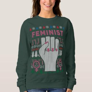 Moletom Camisola feia da camisola do Natal do poder