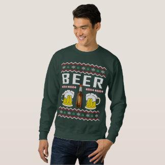 Moletom Camisola feia do Natal da cerveja