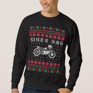 Moletom Camisola feia do Natal da motocicleta da rua do
