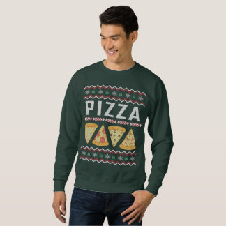 Moletom Camisola feia do Natal da pizza