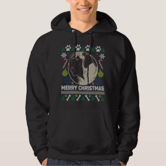 Moletom Camisola feia do Natal da raça do cão do Mastiff
