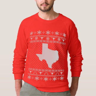 Moletom Camisola feia do Natal de Texas