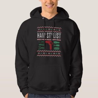 Moletom Camisola feia do Natal do cabeleireiro
