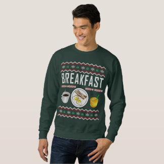 Moletom Camisola feia do Natal do pequeno almoço
