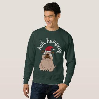 Moletom Camisola feia do Natal do Pug engraçado de Scrooge