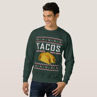 Moletom Camisola feia do Natal do Tacos