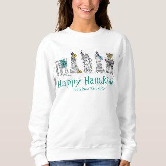 Moletom Camisola feliz de Hanukkah Chanukah NYC New York