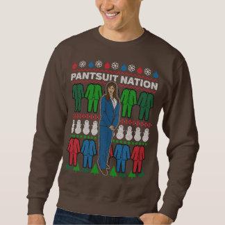 Moletom Camisola foleiro da camisola do Natal da nação do