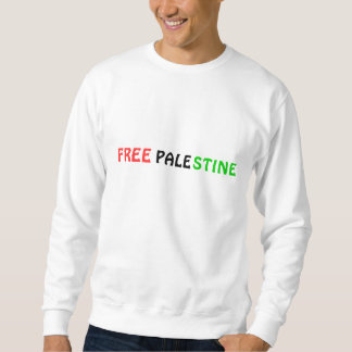 Moletom Camisola LIVRE de PALESTINA