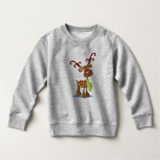 Moletom Camisola muito bonito do Natal | da rena