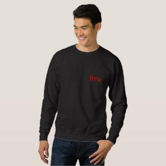 """Moletom camisola vermelha de """"Hru"""" do mollyboo"""