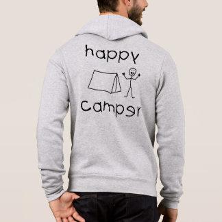Moletom Campista feliz (preto)