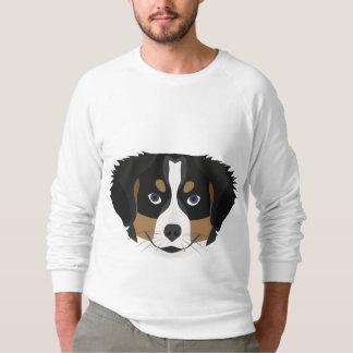Moletom Cão de montanha de Bernese da ilustração