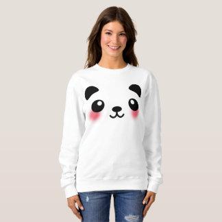 Moletom Cara da panda de Kawaii